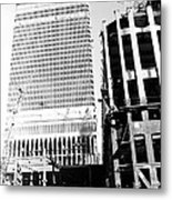 Twin Towers Metal Print