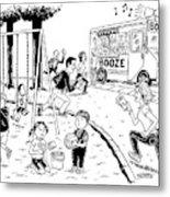 New Yorker July 21st, 2008 Metal Print