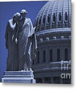 Us Capitol Peace Monument  Metal Print