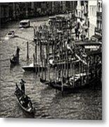 Venetian Cityscape Metal Print