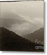 View From Highland Scenic Highway Metal Print