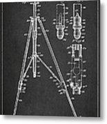 Vintage Tripod Patent Drawing From 1941 Metal Print by Aged Pixel