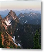 Washington, Cascade Mountains, Mount Metal Print