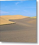 Wheat Fields, S.e. Washington Metal Print