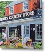 Wilbur's Country Store Metal Print