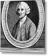 William Hunter (17178-1783) Metal Print