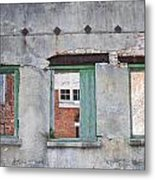 3 Windows Metal Print