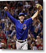 World Series - Chicago Cubs V Cleveland 3 Metal Print