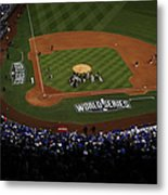 World Series - San Francisco Giants V Metal Print