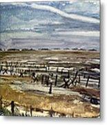 World War II: Normandy Metal Print
