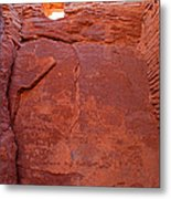 Wupatki Pueblo In Wupatki National Monument Metal Print