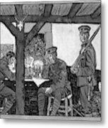 Wwi Soldiers, 1918 Metal Print