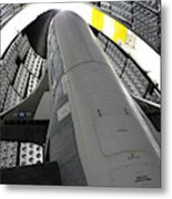 X-37b Orbital Test Vehicle Metal Print