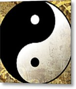 Yin And Yang 4 Metal Print