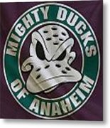 Anaheim Ducks Metal Print