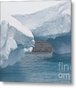 Iceberg, Antarctica Metal Print