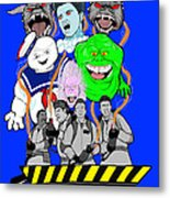 30 Years Of Ghostbusters Metal Print by Gary Niles
