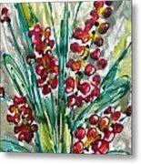 Zenmoksha Flowers Metal Print