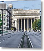 30th Street Station From Jfk Blvd Metal Print