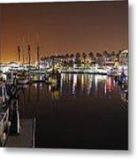 Long Beach Marina- California Metal Print
