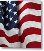 Usa Flag Metal Print