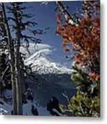 Mt Hood From Lookout Mtn Metal Print
