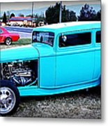 32 Ford Victoria Two Door Metal Print