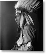 Sioux Native American, C1900 Metal Print