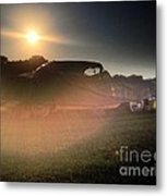 322 Olds Ghost Metal Print by Garren Zanker