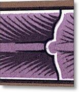 Mediæval Ornament Metal Print