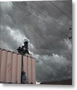 Nebraska Panhandle Supercells Metal Print