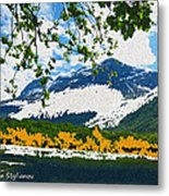 Norway  Landscape Metal Print