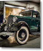 '33 Plymouth Metal Print