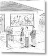 New Yorker September 15th, 2008 Metal Print