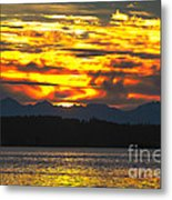 333 Marine Sunrise Metal Print