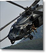 33rd Rescue Squadron, Osan Air Base Metal Print