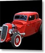 34 Ford Coupe Metal Print