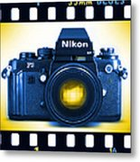 35mm Blues Nikon F-3hp Metal Print