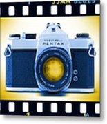 35mm Blues Pentax Spotmatic Metal Print