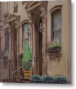 36th Street Ny Residence Of Fdr Metal Print