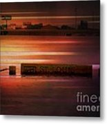 37 Feet Past Flood Stage 2 Metal Print
