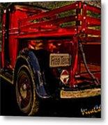 37 Ranch Truck Metal Print