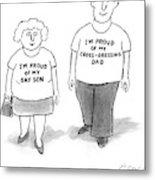 New Yorker November 29th, 2004 Metal Print