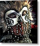 Venice, Italy Mask And Costumes Metal Print