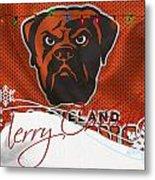 Cleveland Browns Metal Print