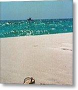 #384 33a Sandals On The Beach - Destin Florida Metal Print