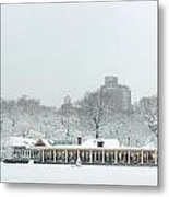 Central Park Winter Metal Print