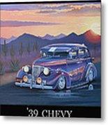 '39 Chevy Metal Print