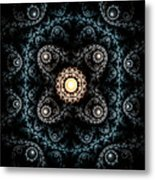 3d Abstract Carpet  Metal Print
