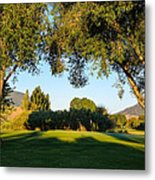 3rd Green At Quilchena  Metal Print
